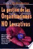 La Gestión De Las Organizaciones No Lucrativas