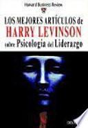 libro Los Mejores Artículos De Harry Levinson Sobre Psicología Del Liderazgo
