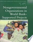 libro Nongovernmental Organizations In World Bank Supported Projects