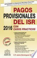 libro Pagos Provisionales Del Isr 2016