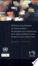 Políticas Municipales De Microcrédito