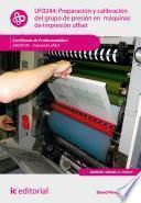 libro Preparación Y Calibración Del Grupo De Presión En Máquinas De Impresión Offset. Argi0109
