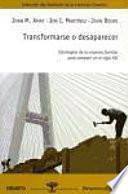 libro Transformarse O Desaparecer