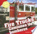 libro Camiones De Bomberos