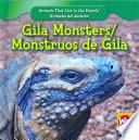 libro Gila Monsters/monstruos De Gila