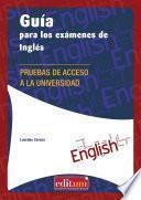 libro Guía Para Los Exámenes De Inglés