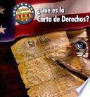 ¿qué Es La Carta De Derechos?