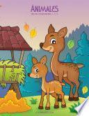 Animales Libro Para Colorear Para Niños 1, 2 & 3