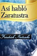 Así Habló Zaratustra