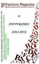 libro Especial Ii Aniversario Pandora Magazine