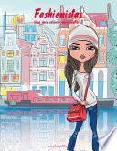 Fashionistas Libro Para Colorear Para Adultos 2