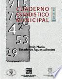 libro Jesús María Estado De Aguascalientes. Cuaderno Estadístico Municipal 1998