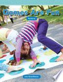 libro Los Juegos Son Divertidos (games Are Fun)