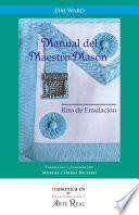 libro Manual Del Maestro Masón