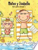 Mateo Y Isabella Libro Para Colorear 1