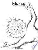 Monos Libro Para Colorear Para Adultos 1