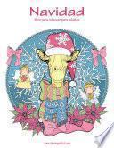 Navidad Libro Para Colorear Para Adultos 1