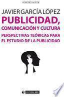 libro Publicidad, Comunicación Y Cultura