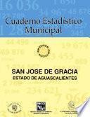 libro San José De Gracia Estado De Aguascalientes. Cuaderno Estadístico Municipal 1996