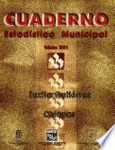 libro Tuxtla Gutiérrez Chiapas. Cuaderno Estadístico Municipal 2001
