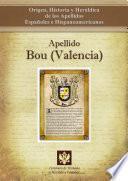 Apellido Bou (valencia)