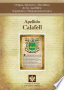 Apellido Calafell