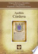 Apellido Córdoba