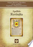 Apellido Roviralta