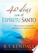 libro 40 Días Con El Espíritu Santo