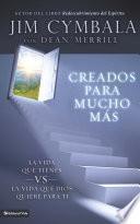 libro Creados Para Mucho Más