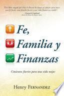 libro Fe, Familia Y Finanzas