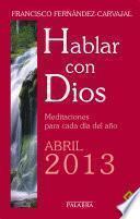 libro Hablar Con Dios   Abril 2013