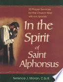 libro In The Spirit Of Saint Alphonsus